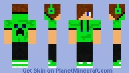 minecraft cool skins for boys for visiting cool boy in green minecraft skin