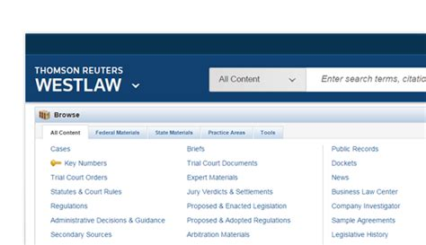 Westlaw Search Peoplemap Search Solutions