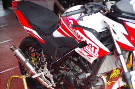 Knalpot Racing Cb150r Pelangi Cb 150r omr cb150r 003 tmc motonews