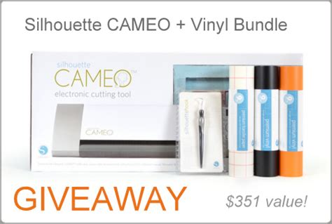 Silhouette Cameo Giveaway - craftaholics anonymous 174 silhouette cameo discounts giveaway