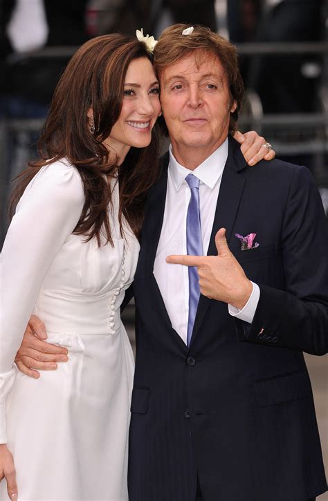 Was Paul Mccartney With Nancy Shevell by Wedding Of Paul Mccartney And Nancy Shevell Fashion