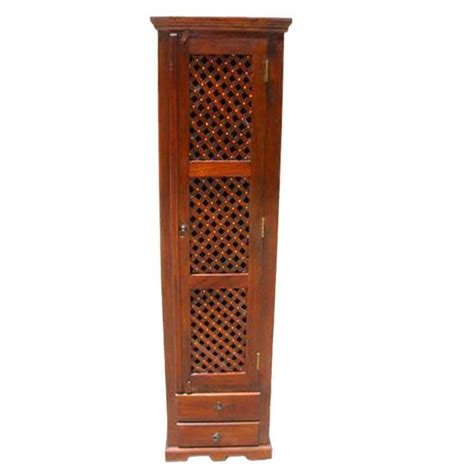 Armoire Multimedia by Solid Wood Lattice Armoire Multimedia Cabinet