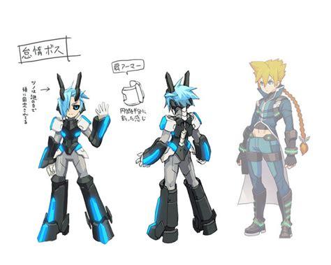 merak gunvolt novas imagens de azure striker gunvolt apresentam os
