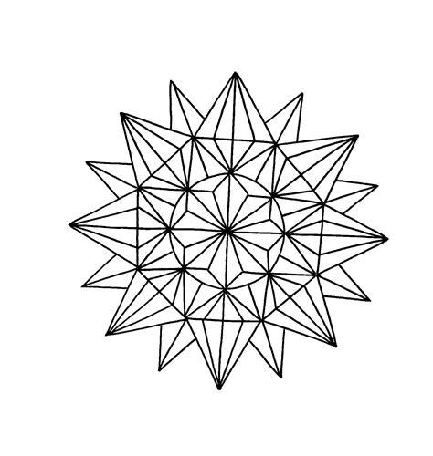 geometric pattern mandala tattoo