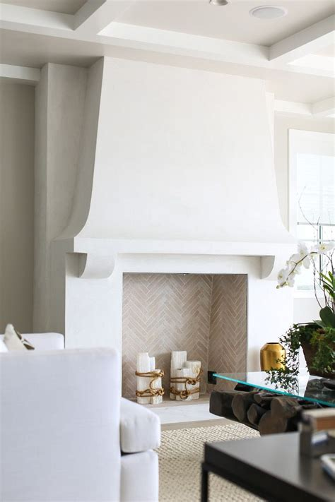17 best ideas about stucco fireplace on