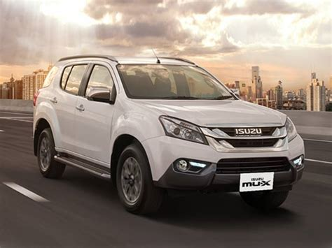 Isuzu Mu 7 Mileage Isuzu Mu X Launched In India Price Mileage
