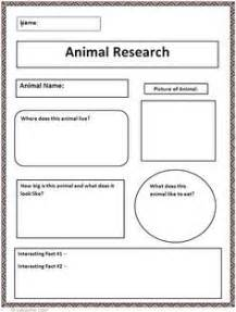 animal research for template animal research project choose an animal draft and