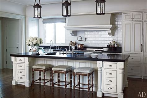 Modern Island Kitchen Designs by White Kitchens Design Ideas Photos Architectural Digest