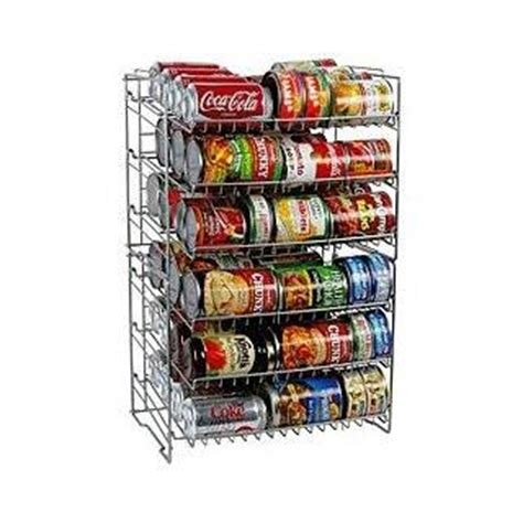 Fifo Storage Can Rack by Fifo Canned Food Storage Rack System New Organize Cans