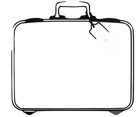 blank suitcase template sweden suitcase clip at clker vector clip