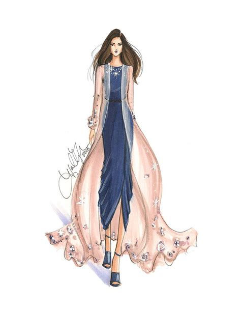 model drawing top blogs of 2015 fashion illustrations copic and