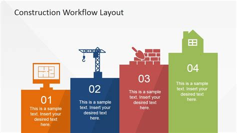 layout workflow construction workflow layout for powerpoint slidemodel