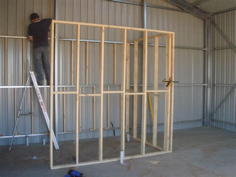 Lining Shed Walls by Wall Building In The Shed Singularo
