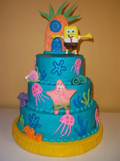 spongebob wedding cakes