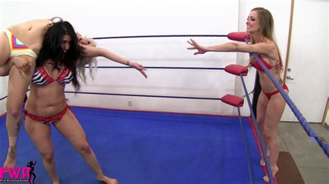 Femwrestling Rooms by Two Rookies Vs The Fem Rooms