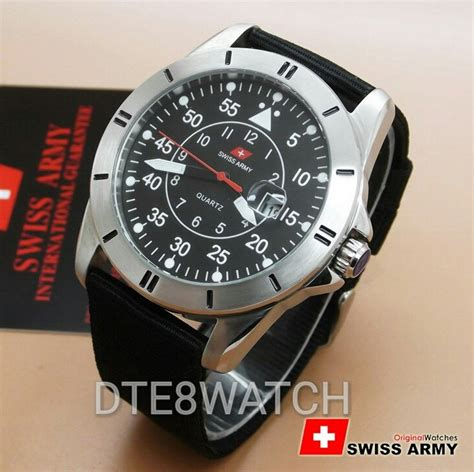 Best Seller Swiss Army jual best seller original swiss army day date canvas 1