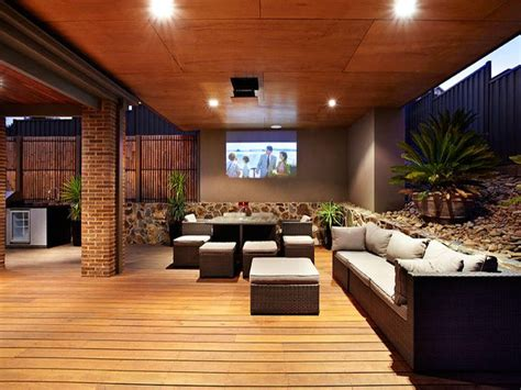 outdoor entertaining areas 1000 ideas about outdoor projector on pinterest outdoor
