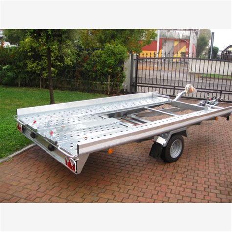 carrello porta auto carrello trasporto auto basculante con re posteriori