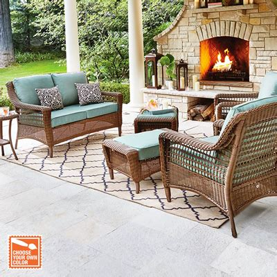 patio furniture set patio furniture for your outdoor space the home depot