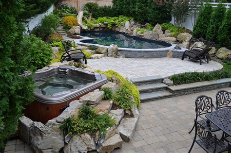 relaxing backyard spaces