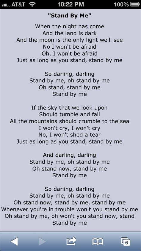 testo so what stand by me lyrics
