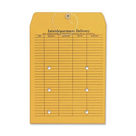 quality park co882 two sided interdepartmental envelope