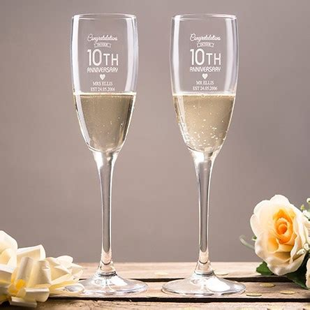 Wedding Anniversary 10th by 10th Tin Wedding Anniversary Gifts Ideas