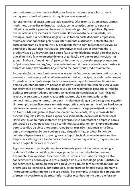 Conhecimento Empresarial (Davenport & Prusak)