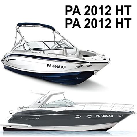 boat registration prices compare price to custom boat registration decals