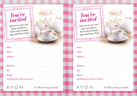 Home Interior Parties Products by Avon Tea Party Theme