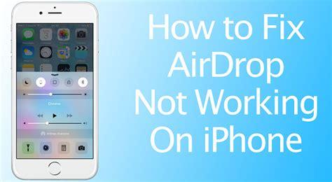 fix airdrop  working  iphone ipad  mac