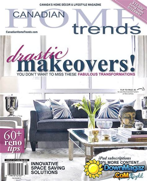 canadian home decor magazines canadian home trends summer 2013 187 download pdf