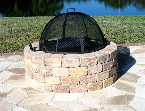outdoor firepit cover 25 best ideas about pit covers on table