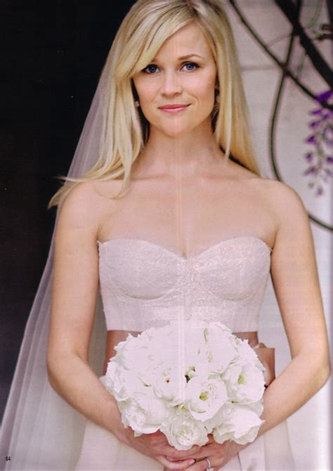 Reese Witherspoon Wedding Dress by Say I Do To Your Wedding Hair Le Martini Xo