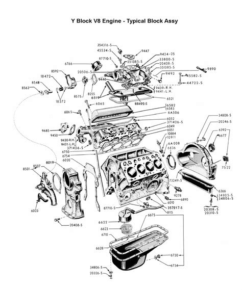 292 y block ford engine diagram 292 tractor engine and