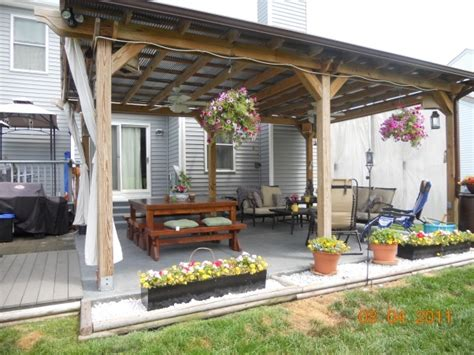 pergola with tin roof pergola designs need to be the tin roof pergola with curtains and imagine this a