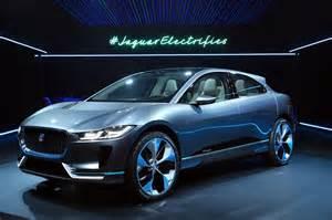 Electric Car Suv Price Jaguar I Pace Concept Electric Suv La Auto Show Images