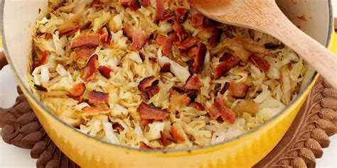 simple beer braised cabbage with bacon oregonian recipes