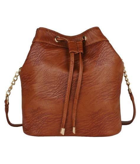 Sling Bag M U lychee bags rust p u sling bag buy lychee bags rust p u