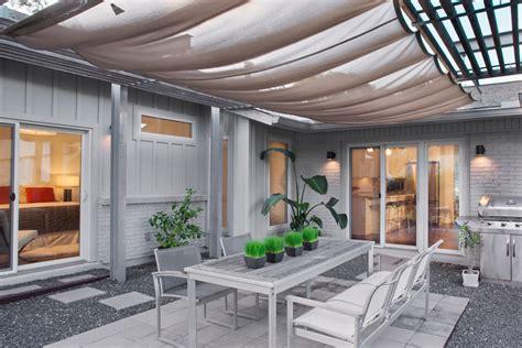 Bright Pergola Canopy trend Austin Contemporary Patio