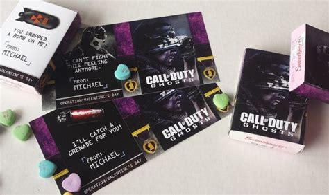 call of duty ghosts inspired s sweetheart box