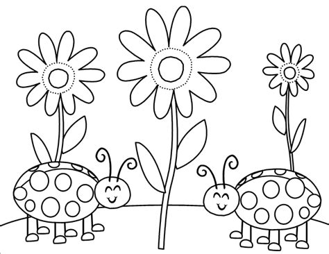 garden bugs coloring page garden bug coloring pages sketch coloring page