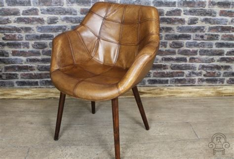 vintage style armchair vintage style chair tan leather bucket armchair