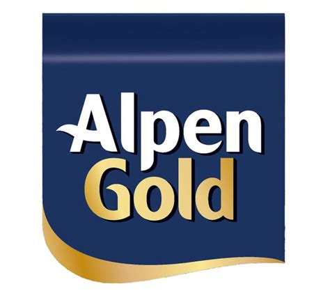 alpen gold logo food logonoidcom