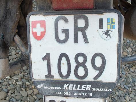 Motorrad Nummernschild Ch by In Bearbeitung Hans Ueli Fl 252 Ckigers Website