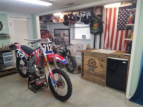 motocross bike setup garage setup finished moto related motocross forums