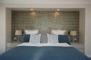 Moroccan mystique feature wall contemporary bedroom brisbane