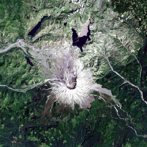 St Helens Records Mount St Helens Rebirth Image Of The Day
