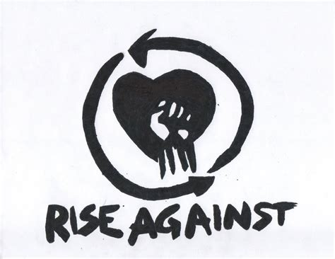 Wall Art Stickers Next rise against logo by dgorsh19 on deviantart