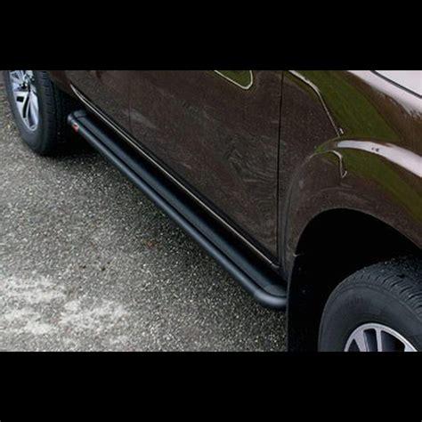 pedane pajero pajero pinin pedana alluminio 2 porte s50 black